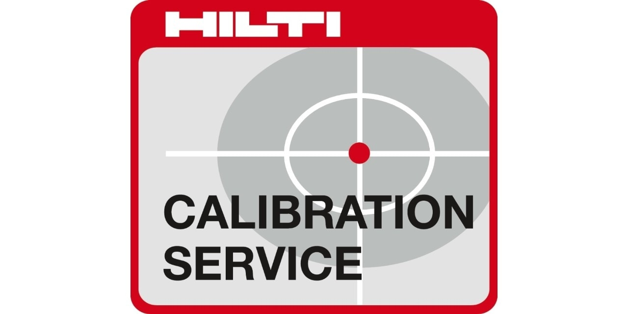 Hilti calibration services