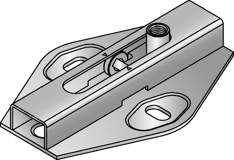 MRG 2,0-F Premium hot-dip galvanized (HDG) roll connector for medium-duty heating and refrigeration applications
