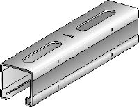 MQ-41-F Hot-dip galvanized (HDG) MQ installation channel for medium-duty applications