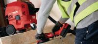 AG 125-A36 Powerful 36V cordless angle grinder (brushless) for cutting and grinding with discs up to 125 mm Applications 4