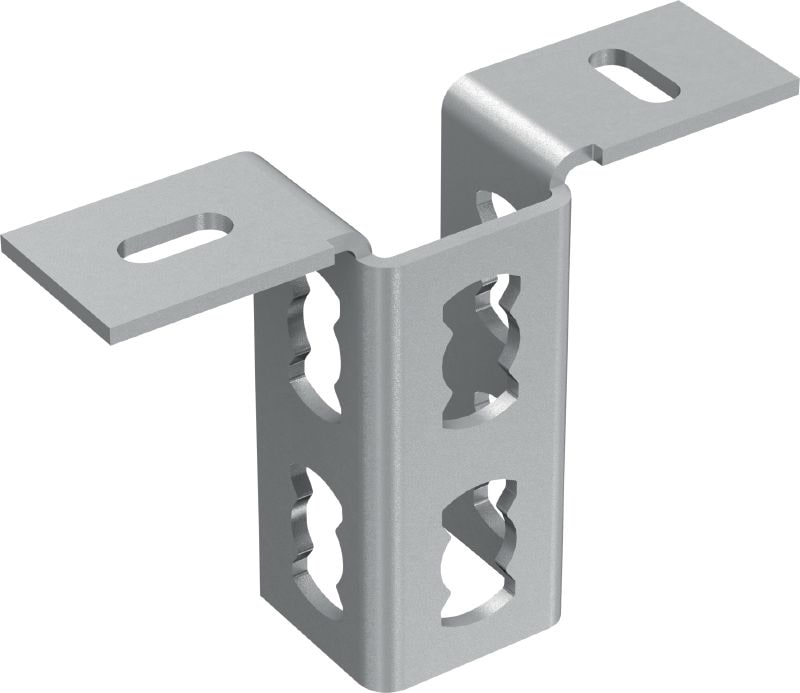 MQV-2/2 D Channel connector Galvanized flexible channel connector for two-dimensional structures