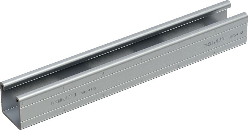 MR-41/3 Galvanized strut channel with 3 mm thick steel