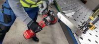 AG 4S-A22 Cordless angle grinder 22V cordless angle grinder (brushless) for everyday cutting and grinding with discs up to 125 mm Applications 4