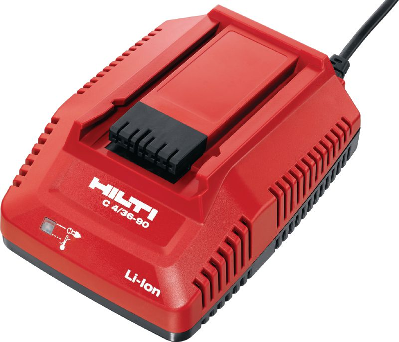 C4/36-90 Multi-voltage compact charger for all Hilti Li-ion batteries