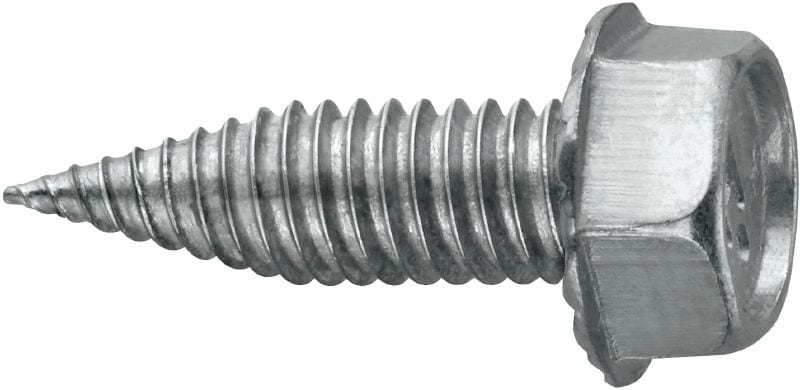 S-MS 01Z Self-drilling chipless screw without washer (carbon steel) for HVAC applications