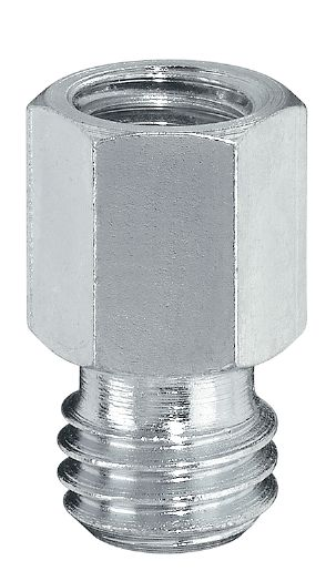 GA Galvanized thread adapters to connect various internal and external thread diameters
