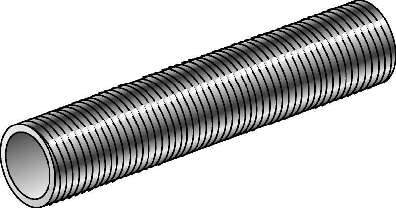 GR-G Galvanized threaded pipe with 4.6 steel grade used as an accessory for various applications