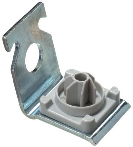 X-ECC MX Metal ceiling clip for light-duty electrical/mechanical fastenings on ceilings and use with collated nails